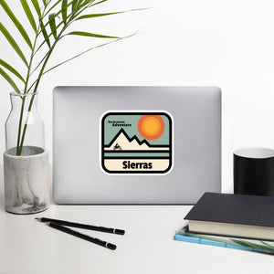 High Sierra Completion Sticker