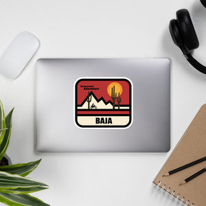 Baja Completion Sticker