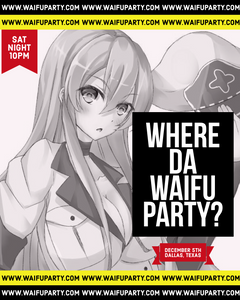 HOUSE OF WAIFU, VIP Admission