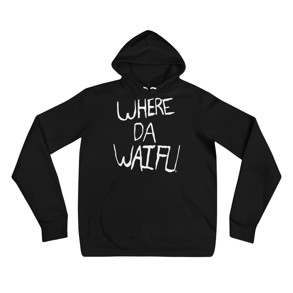 WHERE DA WAIFU Signature Hoody+