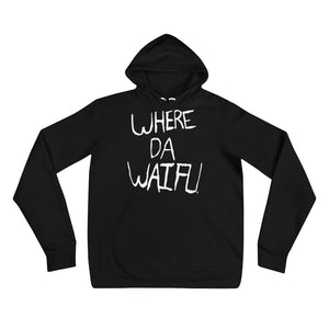 WHERE DA WAIFU Signature Hoody
