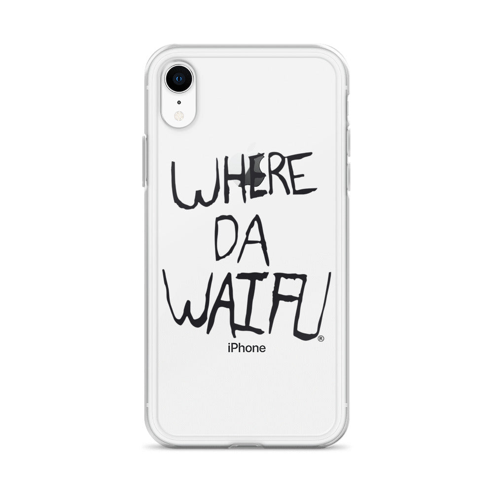 WDW Signature iPhone Case, blk logo