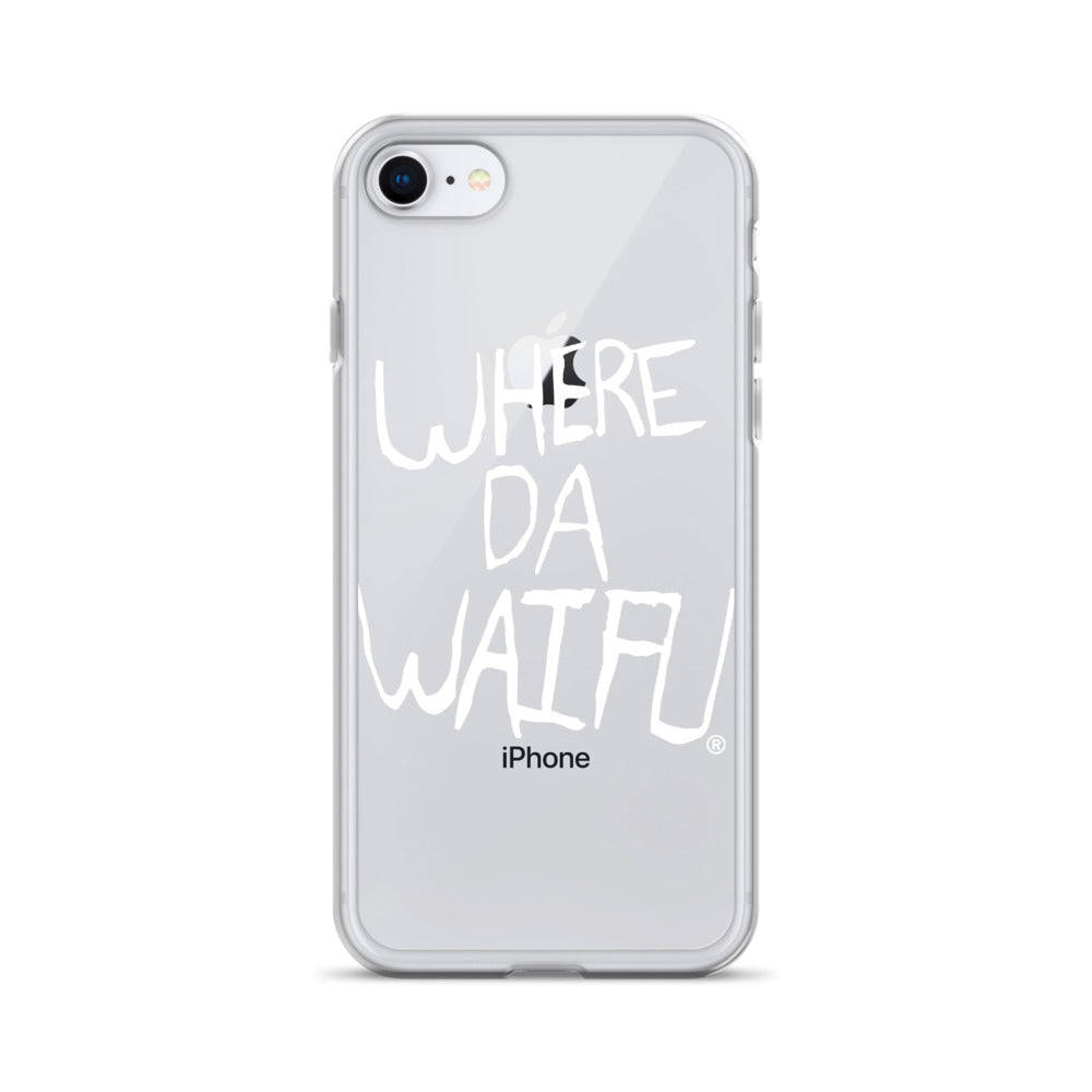 WDW Signature iPhone Case, wht logo
