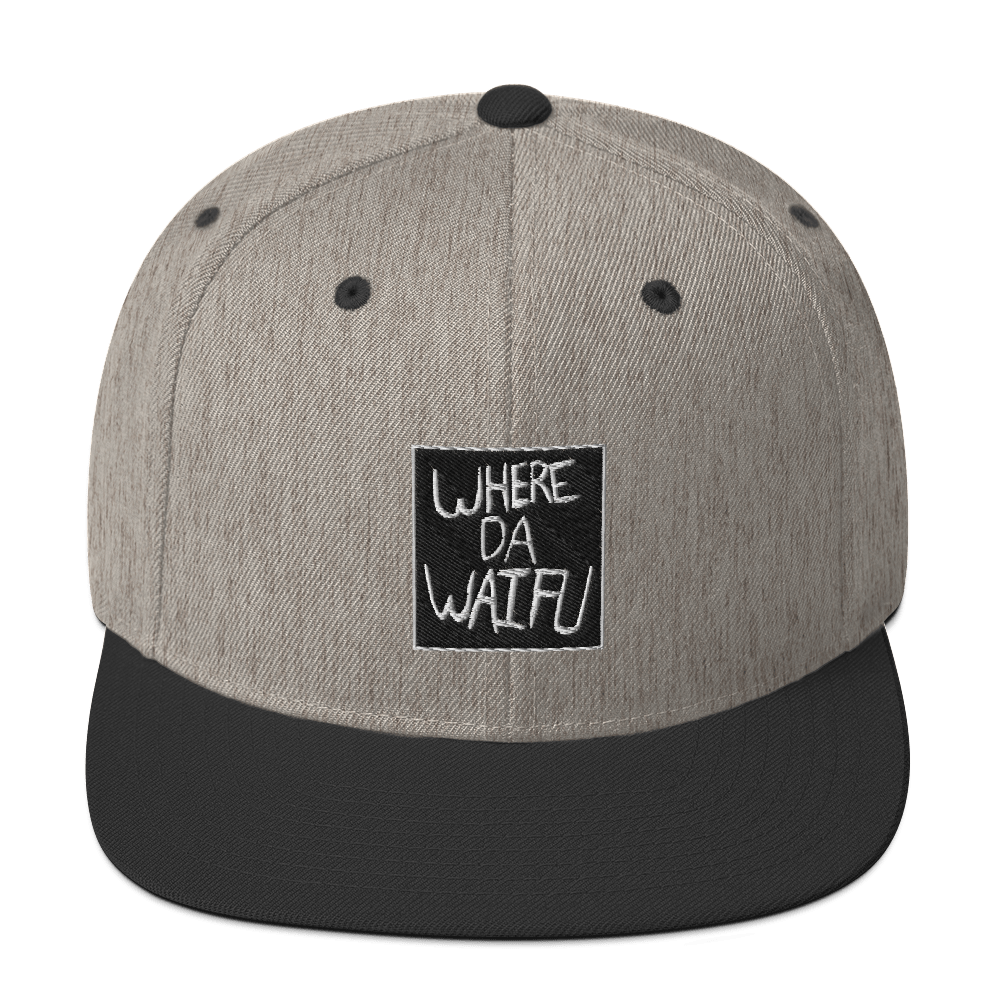 WHERE DA WAIFU BLOCC BOI SNAPBACK