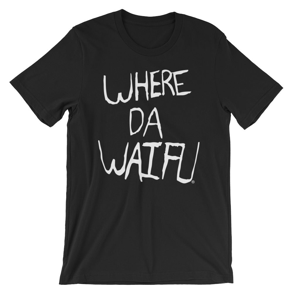 WHERE DA WAIFU Signature Tee