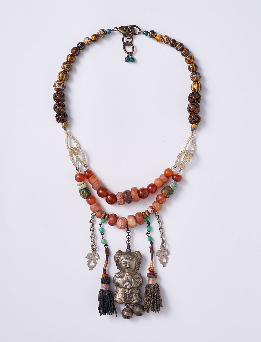 Chinese Statement Necklace