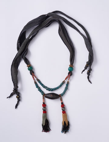I Love Textiles Necklace