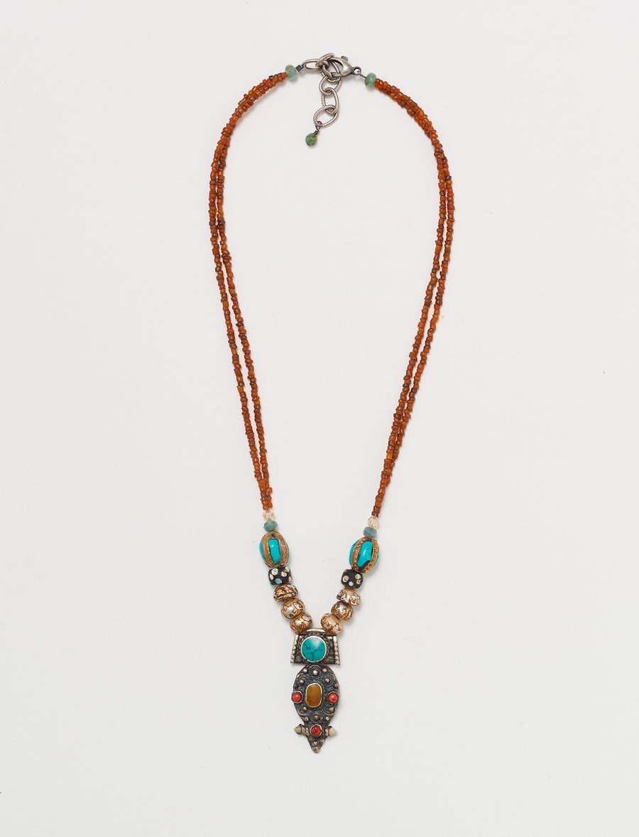 Nepal Pearl Short Necklace