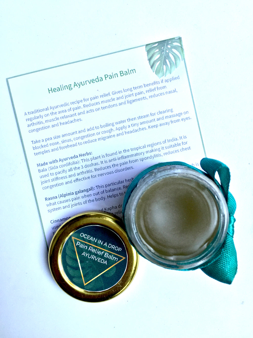 Ayurveda Pain Relief Balm