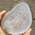 White Agate Crystal Coasters
