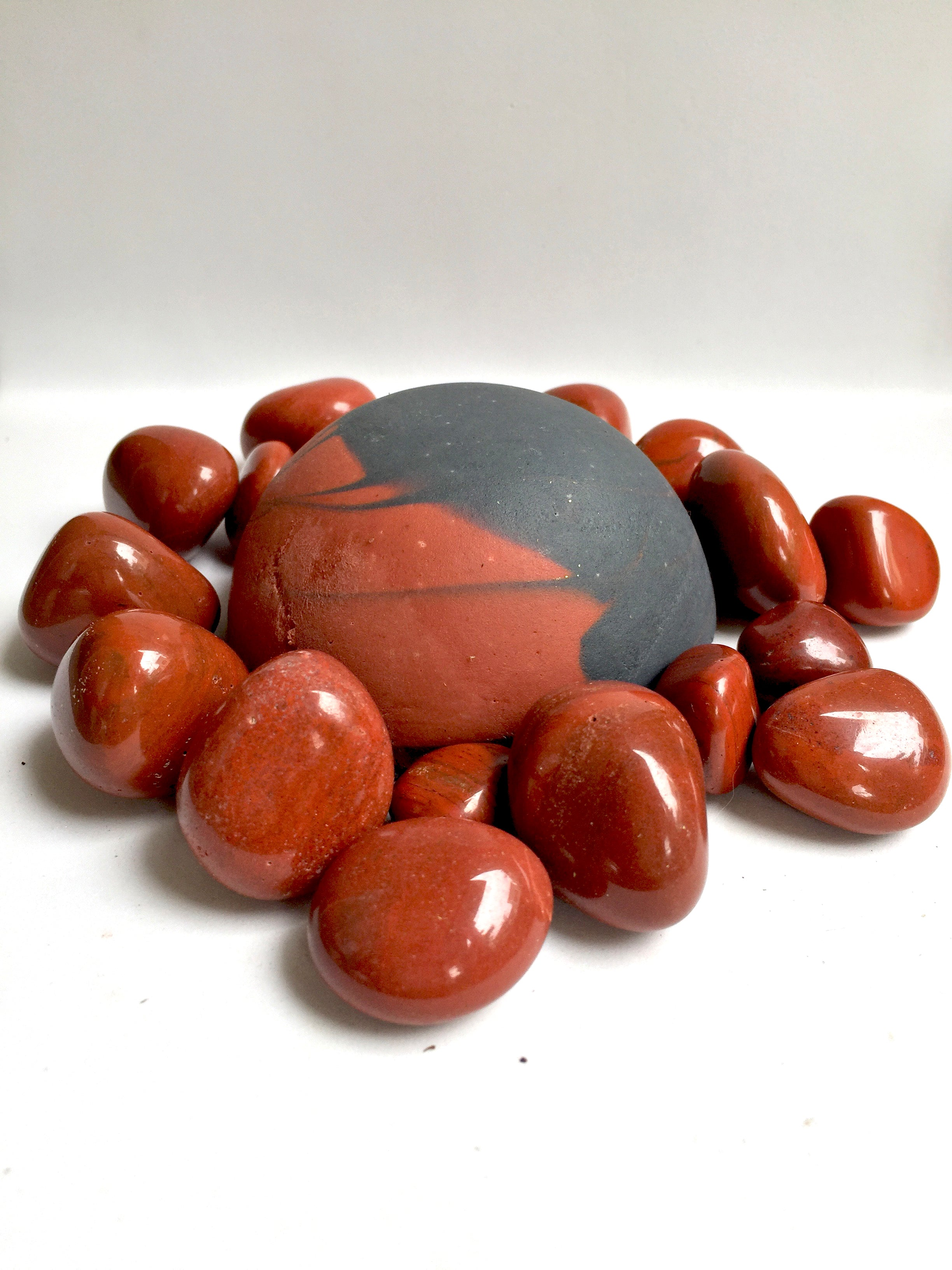 Red Jasper - Adzuki beans + Red clay