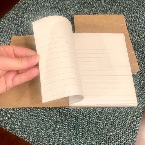 Mini Lined paper Notebook