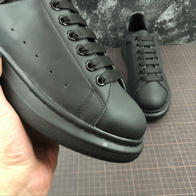 """Alexander McQueen ""Leather""  Total Black"