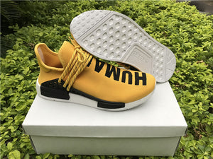 "Adidas x Pharell Williams - Human Race NMD ""Yellow"" - Hype Aparell"