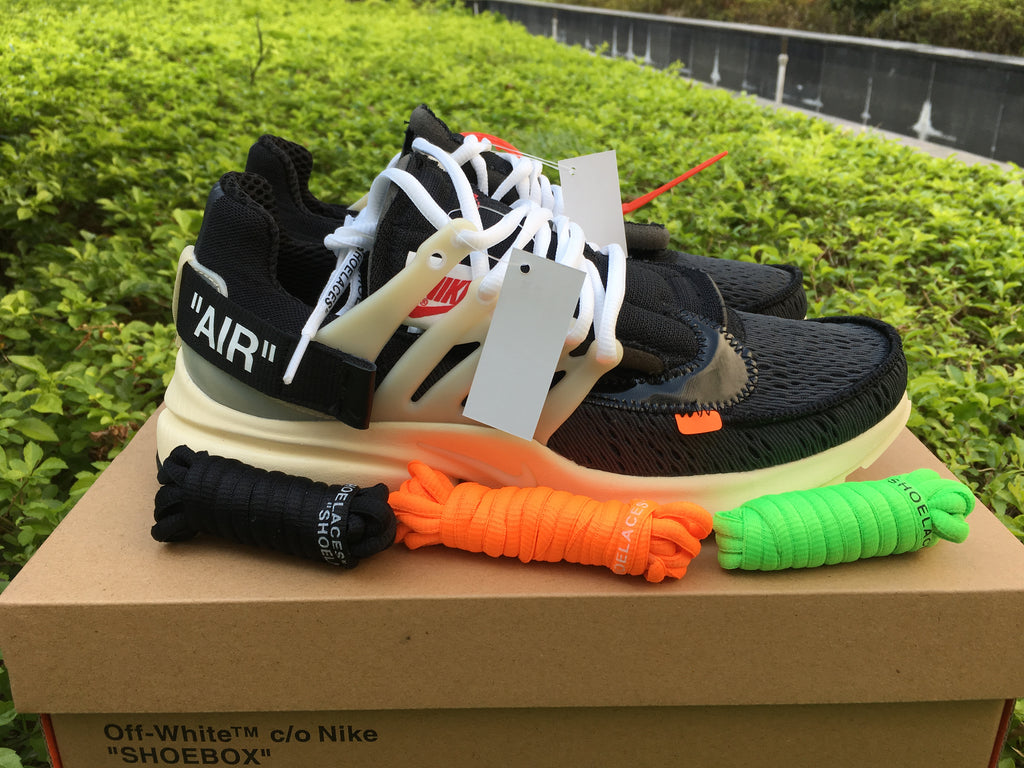 "Nike x Off White ""Presto Air Black/White"" - Hype Aparell"
