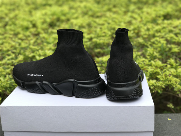 "Balenciaga ""Speed Trainer Knit"" Total Black - Hype Aparell"