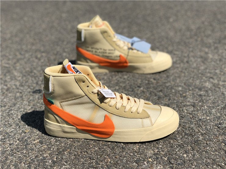 "Nike x Off-White ""Blazer Mid All Hallows Eve"" - Hype Aparell"