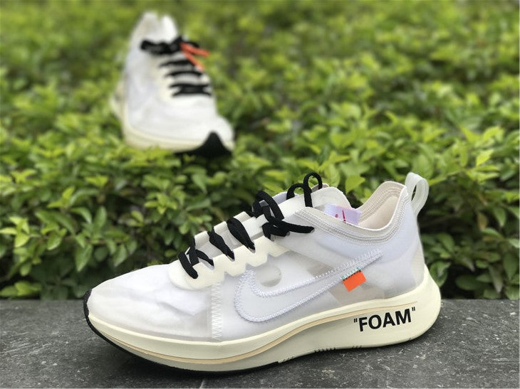 "Nike x Off White ""Zoom Fly White"" - Hype Aparell"