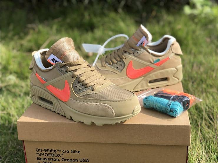 "Nike x Off White ""Air Max 90 Desert One"" - Hype Aparell"