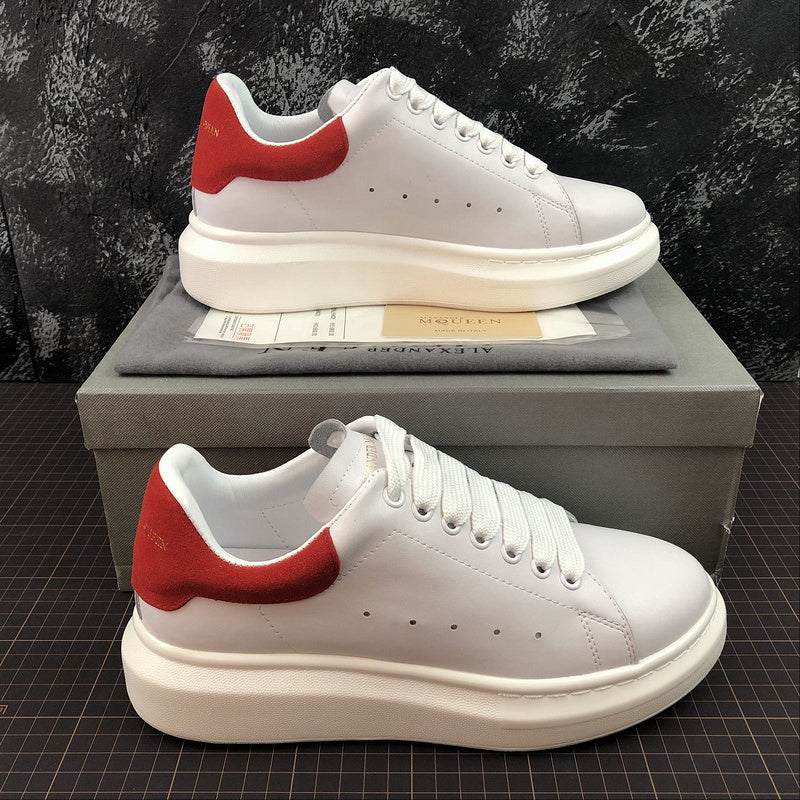 """Alexander McQueen ""Leather""  Rosso"