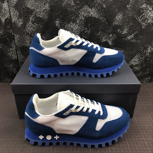 Louis Vuitton Runner Blu - Luxury Aparell
