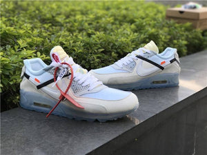 "Nike x Off White ""Air Max 90 White"" - Hype Aparell"