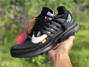 "Nike x Off White ""Presto Air Black"" - Hype Aparell"
