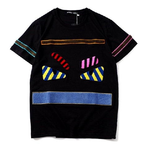 T-shirt Fendi multicolor - Luxury Aparell