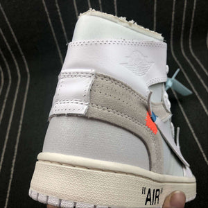 "Jordan x Off White ""1 Retro High""  White - Hype Aparell"