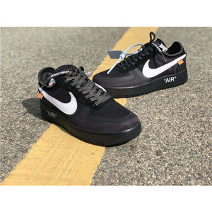 "Nike x Off-White ""Air Force 1"" BLACK - Hype Aparell"