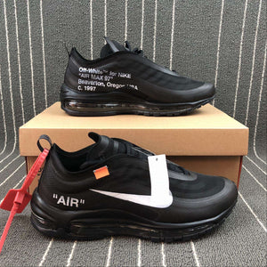 "Nike x Off-White ""Air MAX 97"" Black - Hype Aparell"