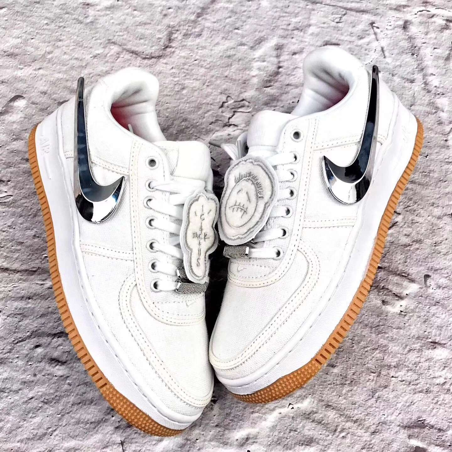 "Nike X Travis Scott ""Air Force 1"" - Hype Aparell"