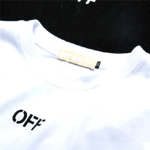T-shirt Off-White/White - Hype Aparell