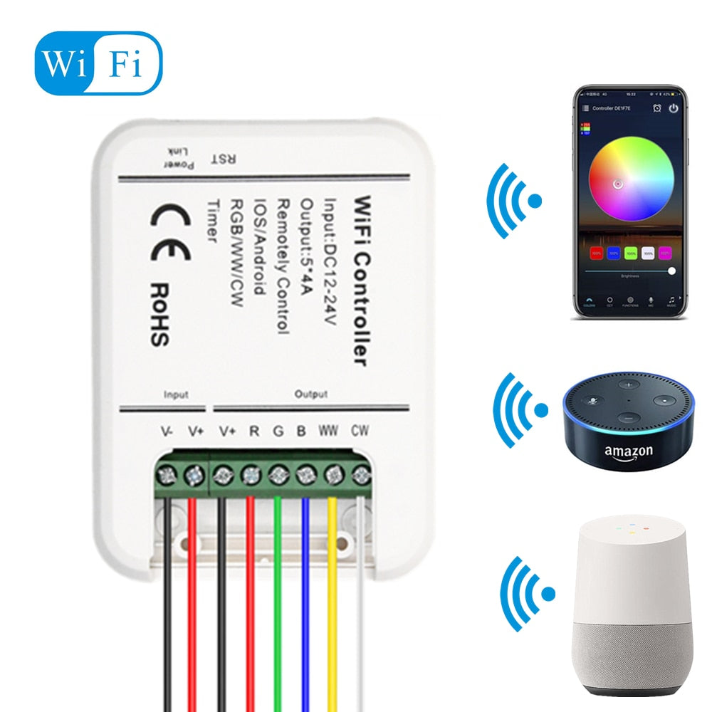 WiFi LED Strip Controller