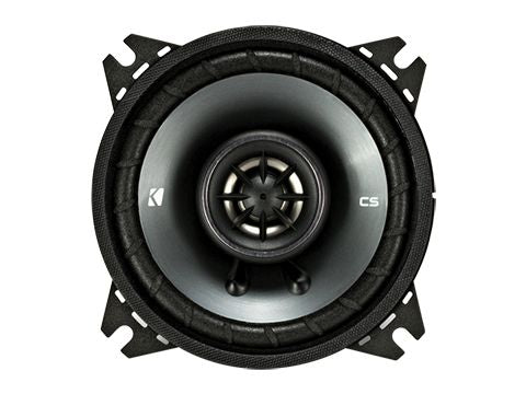 "KICKER CS SERIES CSC4 150W 4"" Pair Coaxial Speakers"