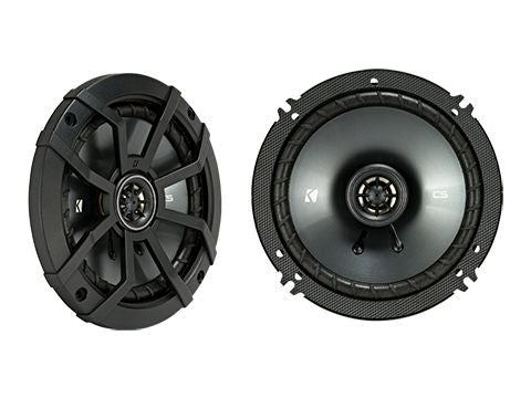 "KICKER CS SERIES CSC65 300W 6.5"" Pair Coaxial Speakers"
