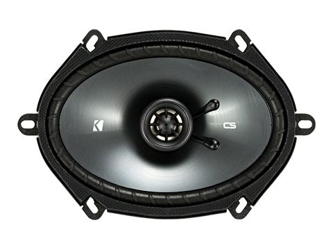 "KICKER CS SERIES CSC68 225W 6x8"" Pair Coaxial Speakers"