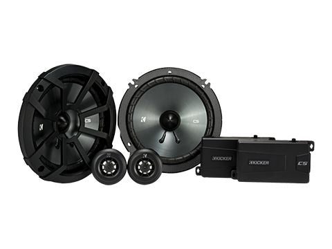 "KICKER CS SERIES CSS65 300W 6.5"" Pair Component Speakers"