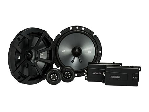 "KICKER CS SERIES CSS67 300W 6.75"" Pair Component Speakers"