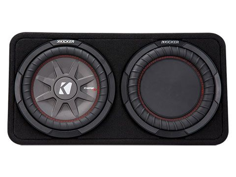 "KICKER 10"" COMPRT 2 Ohm 400W Sub Box"