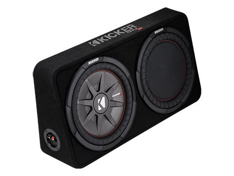 "KICKER 12"" COMPRT 2 Ohm 500W Sub Box"