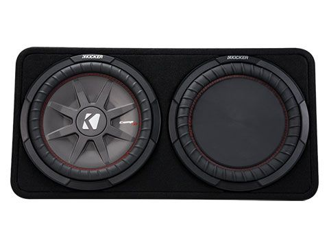 "KICKER 12"" COMPRT 4 Ohm 500W Sub Box"