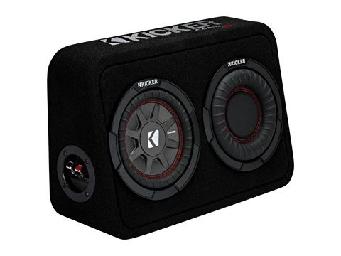"KICKER 6.75"" COMPRT 2 Ohm 150W Sub Box"