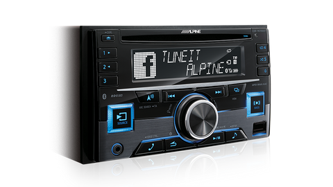 Alpine CDE-W296BT Head Unit