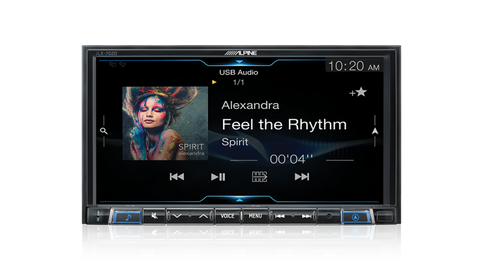 Alpine iLX-702D Head Unit