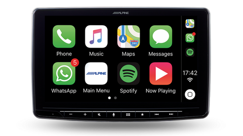 Alpine iLX-F309E  Halo9 Head Unit