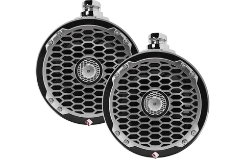 "Rockford Fosgate PM2652W-B 6-1/2"" wakeboard tower speakers"