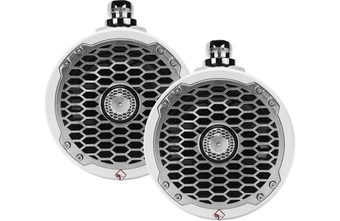 "Rockford Fosgate PM2652W 6-1/2"" wakeboard tower speakers (White)"