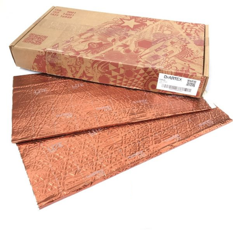 Dr Artex Advanced Sound Dampening Material Gold HD FP 2.6MM Foil (8 Sheets)