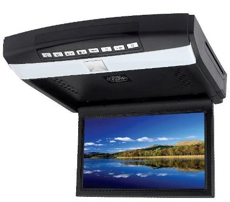 "Mongoose Q355 10.2"" Roof Mounted DVD Player"